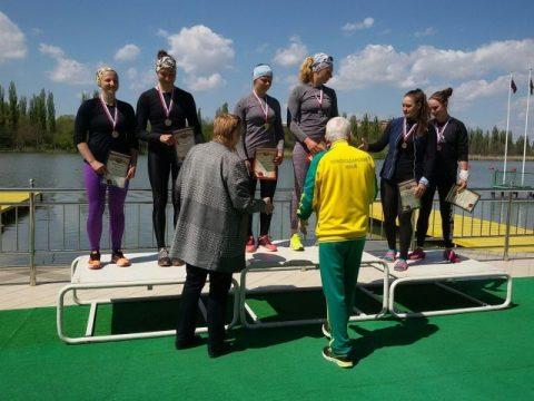 Анастасия Долгова заняла 1 место К2 - 500 метров Краснодар, 12 апреля