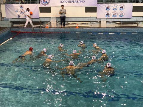 Установка тренера на игру сборной команды Севастополя по водному поло в Москве декабрь 2017