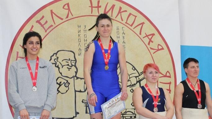 Ибрагимова Дарья завоевала золото в Пушкино 10 февраля 2018