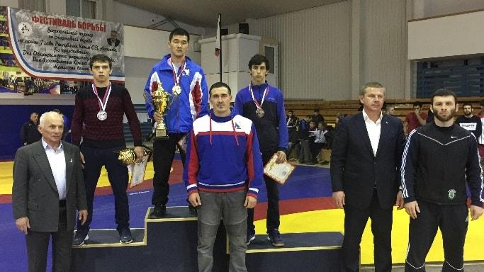 Джангар Бачаев выиграл Всероссийский турнир по греко-римской борьбе в Алуште март 2018 года