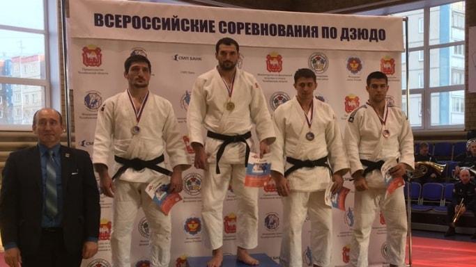 Давид Мамулян выиграл бронзу на кубке Губернатора Челябинской области март 2018