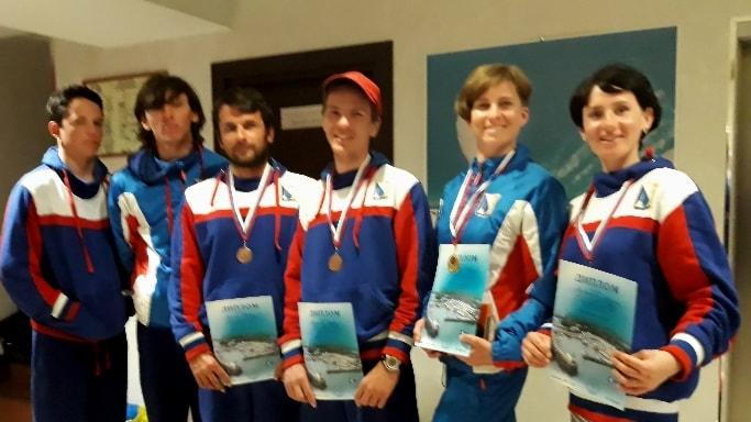 Победители второго этапа Кубка России в олимпийских классах яхт в марте 2018 года