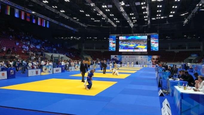 Атмосфера международного юношеского турнира по дзюдо памяти заслуженного тренера России Анатолия Рахлина 2018