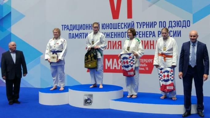 Дарья Егорова завоевала 3 место на турнире Рахлина 2018