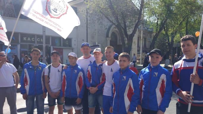 Молодежная сборная Севастополя по дзюдо на 1 мая 2018 года