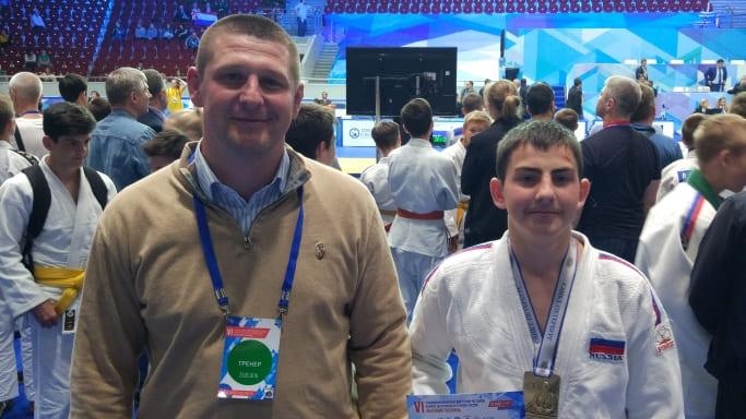 Семенихин Роман Сергеевич и Александр Козлов на турнире Рахлина 2018