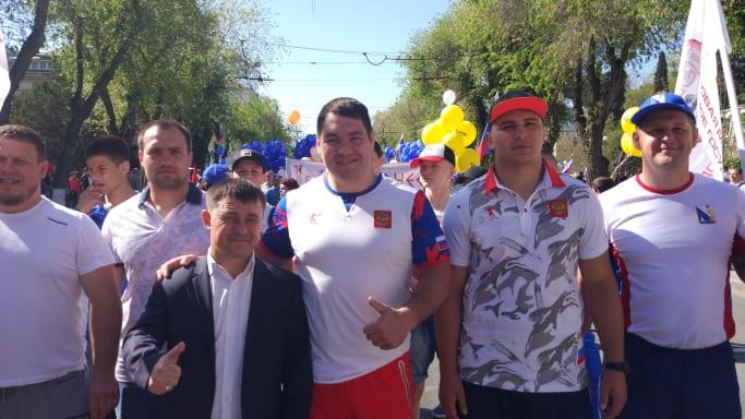 Севастопольские дзюдоисты на 1 мая 2018