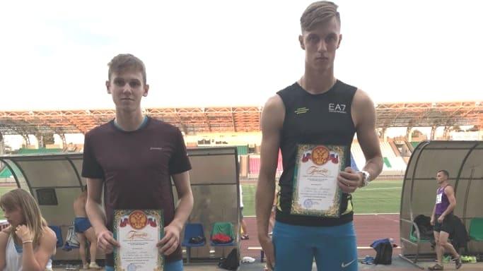 Алексей Тимофеев 2 место на Первенстве ЮФО по легкой атлетике среди юниоров до 20 лет июнь 2018 года