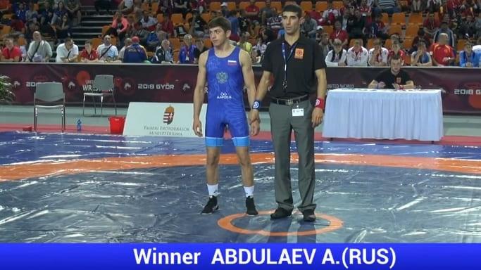 Арип Абдулаев победитель первенства Европы в в Дьёре, июнь 2018