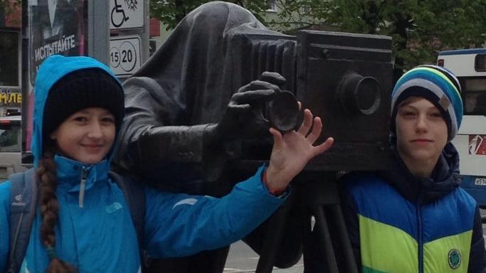 Милана Кабацкая и Егор Трусов в Перми - Первенство России среди подростков июнь 2018
