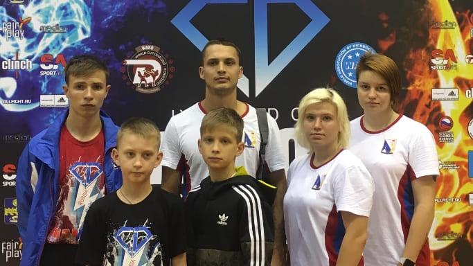 сборная Севастополя по кикбоксингу в Анапе июнь 2018 года