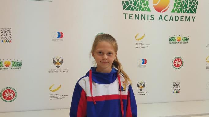 юная теннисистка Севастополя на Первенстве России 2018 года в Казани