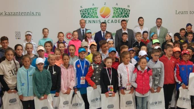 юные теннисисты собрались на Первенстве России 2018 года в Казани