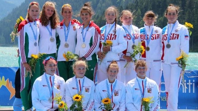 Анастасия Долгова 3 командное место на Первенстве Европы 2018 года U23 в Италии