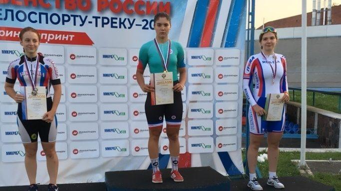 Дрягина Екатерина — 1 место в спринте среди девушек 2002-2003 Тула июль 2018