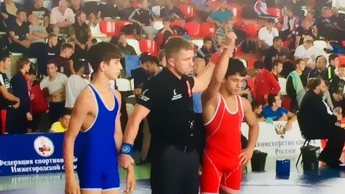 бронзовую медаль Зейтулаев Турды на Всероссийском юношеском турнире по греко-римской борьбе памяти Парфенова