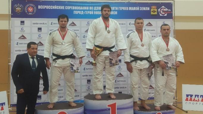 Александр Шалимов завоевал бронзу на Всероссийском турнире по дзюдо в Новороссийске 2018