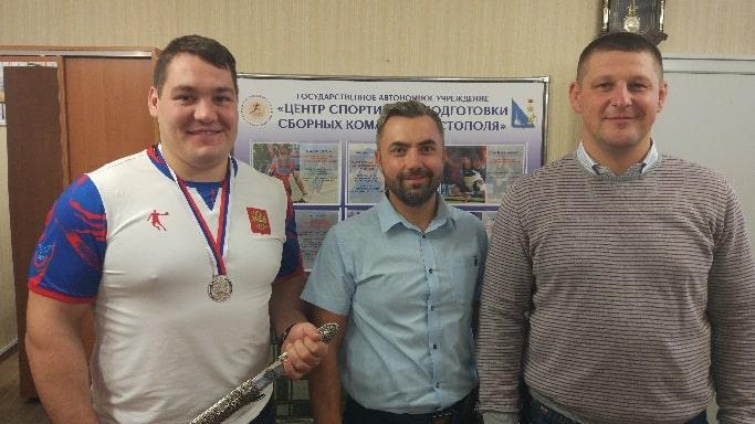 Антон Брачев в центре спортивной подготовке сборных команд Севастополя 2018