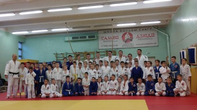 Совместное фото на мастер-классе Антона Брачева 23 декабря 2018 года