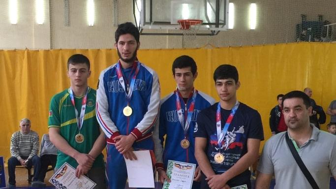 Победитель Первенства ЮФО 2019 в городе Азов - Давоян Баграт в весовой категории до 63 кг