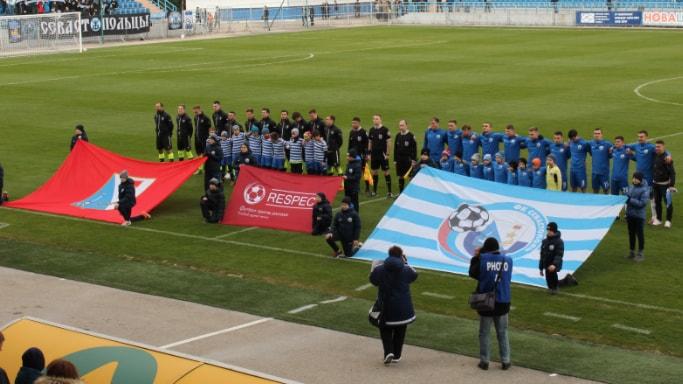 ФК Севастополь выиграл у ФК Евпатория 2 марта 2019 года