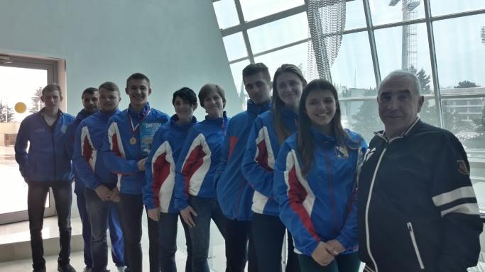 Сборная Севастополя по парусному спорту на 1 этапе Кубка России в Сочи февраль 2019 года