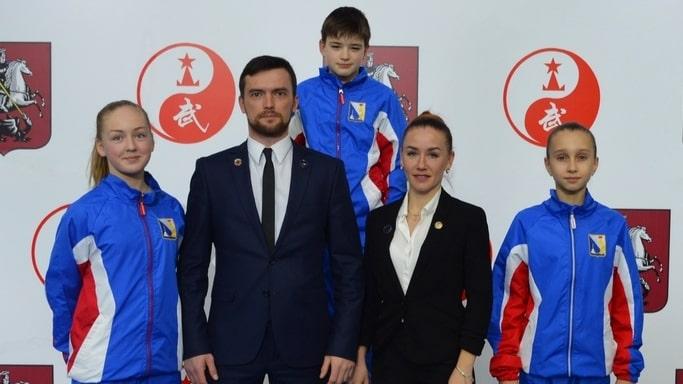 Сборная Севастополя по ушу на Первенстве России март 2019