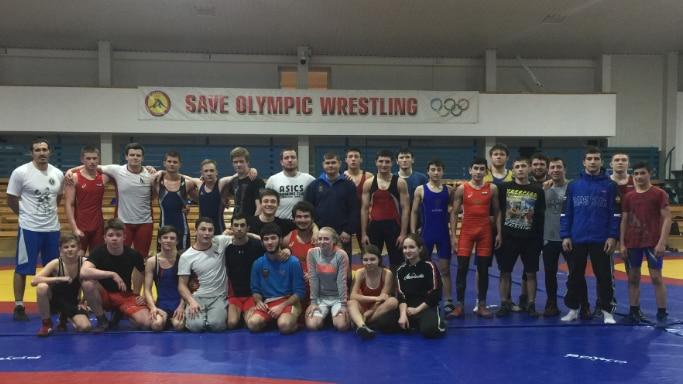 Тренировочные сборы севастопольских спортсменов в Алуште с 20 февраля по 5 марта 2019 года