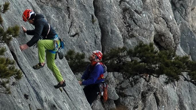 Восхождение на гору Мердвень-Кая Чемпионат города Севастополя по альпинизму в скальном классе 17 марта 2019 г