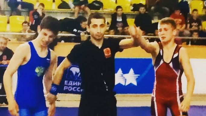 Андраник Григорянц завоевал бронзу на Первенстве ЮФО по греко-римской борьбе в Элисте