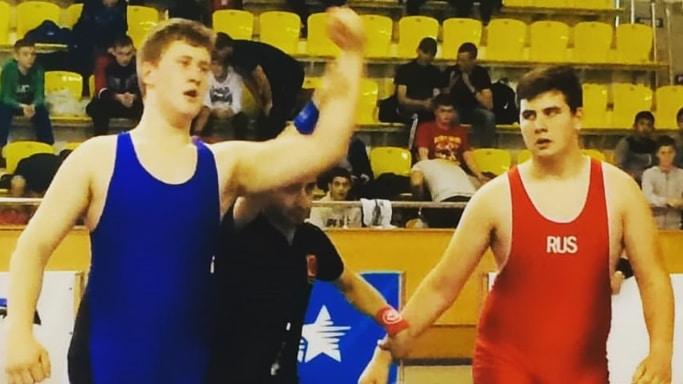 Дмитрий Герасин завоевал бронзу на Первенстве ЮФО по греко-римской борьбе в Элисте