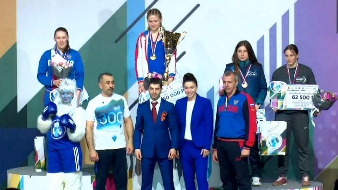 Елена Гапешина бронзовый призер чемпионата России по боксу