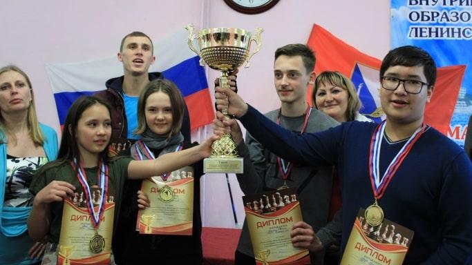 Победители Всероссийских соревнований по шахматам Белая ладья - Севастополь