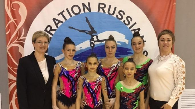 Севастопольская борная на Первенстве России по спортивной акробатике - март 2019