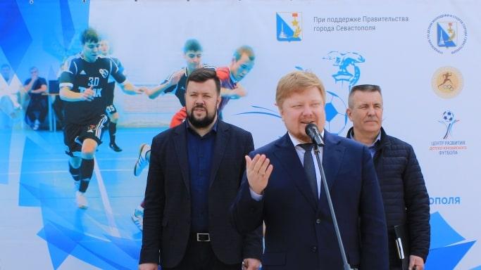 Церемония торжественного открытия турнира по мини-футболу Кубок Губернатора города Севастополя