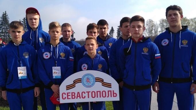 Команда города Севастополя по самбо на турнире Победа в Санкт Петербурге 5 мая 2019