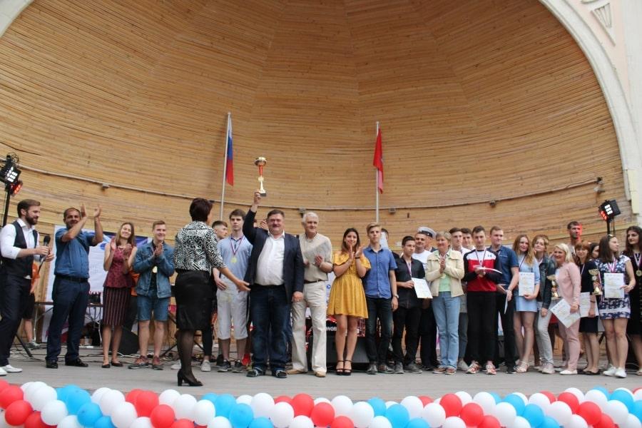 Награждение победителей Спартакиады студентов города Севастополя 2019