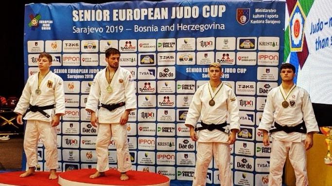Севастопольский дзюдоист Лаша Ломидзе 1 место Кубка Европы