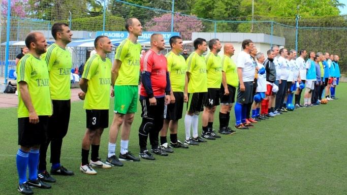 Старт чемпионата города Севастополя по мини-футболу среди ветеранов