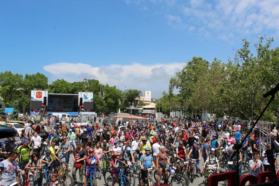 ВелоПобеда 2019 в Севастополе 26 мая на площади Нахимова