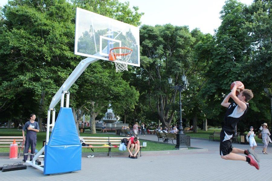 Баскетбольное мастерство на Всероссийский олимпийский день в Севастополе 15 июня 2019 года
