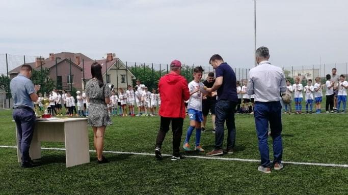 Награждение победителей футбольного турнира Локобол - 2019 - РЖД
