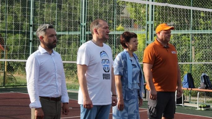Открытие мини-спартакиады среди дворовых команд Двор-спорт-2019