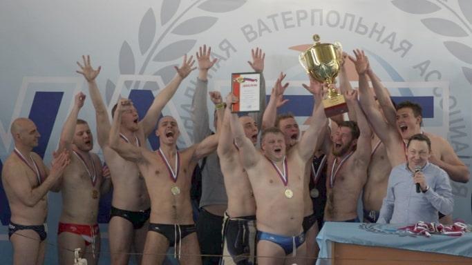 Сборная команда Севастополя по мини-водному поло на Чемпион России - июнь 2019