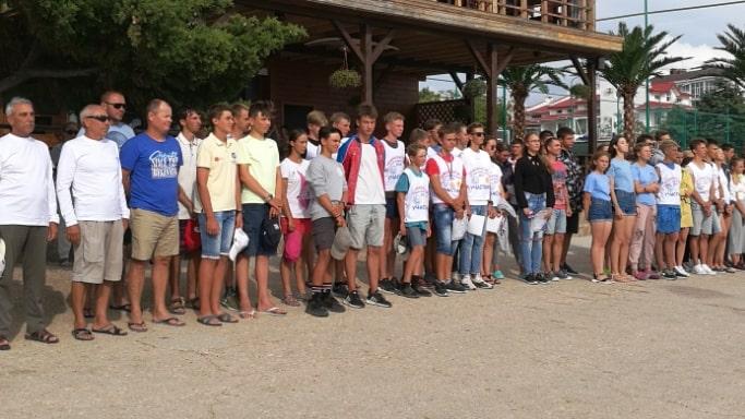 Церемония открытия Чемпионата ЮФО по парусному спорту - 11-07-2019