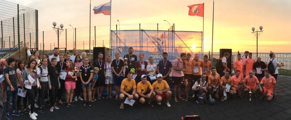 Победители Кубка Губернатора Севастополя по пляжному футболу - 18 августа 2019 года