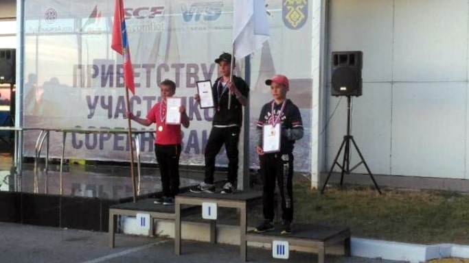 Артём Черпита выиграл серебро на первенстве России в классах яхт 2019 года