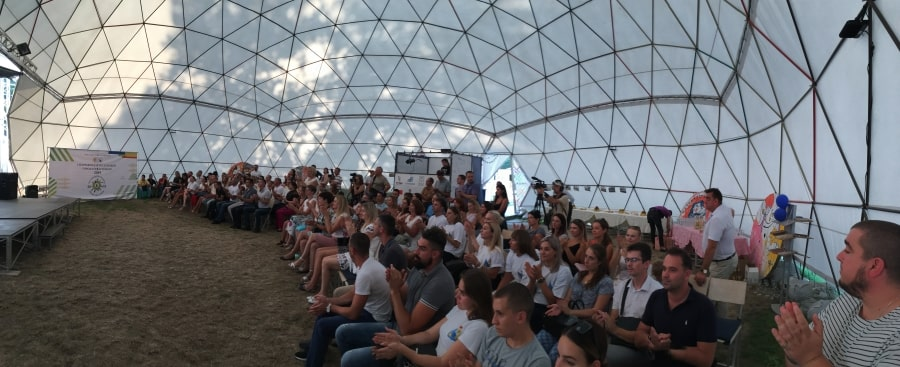 Церемония закрытия Спартакиады госслужащих города Севастополя состоялась в сценическом комплексе Театральная улица