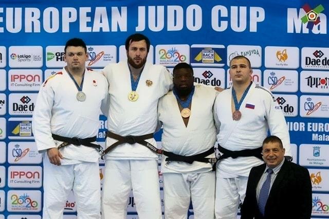 Александр Шалимов стал призёром Кубка Европы по дзюдо среди юниоров