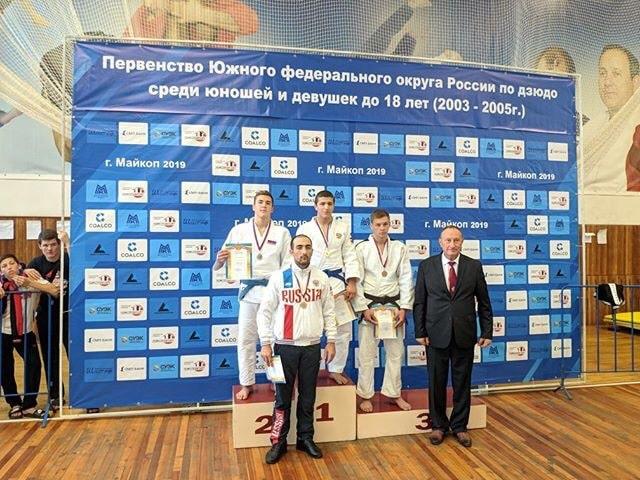 Эдем Сеит-Умеров 2 место на первенства ЮФО по дзюдо 2019